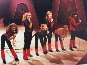 The Little Ladies , appearing on a CBC variety show.